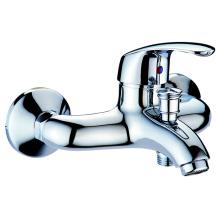 Bathroom brass bathtub hand shower faucet 2 function