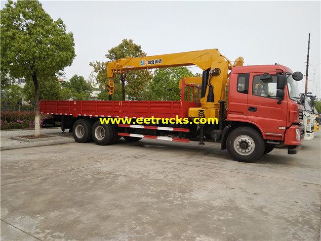 270hp 14ton Truck with Cranes