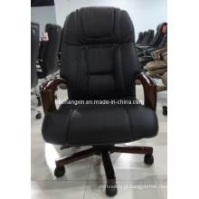 Cadeira de escritório de couro de alta qualidade Design moderno