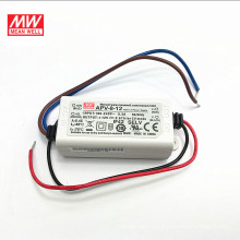 MEAN WELL 12v 6w led driver APV-8-12