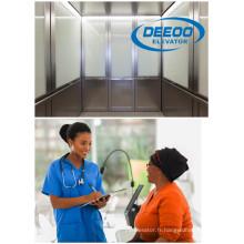 Ascenseur d'hôpital passager de haute performance de fabricant direct