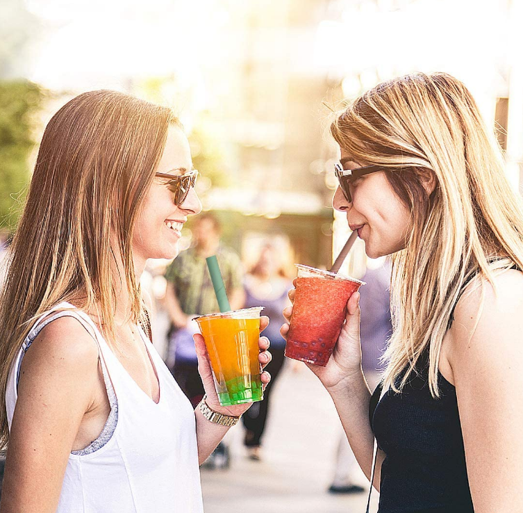 Reusable Silicone Drinking Straw