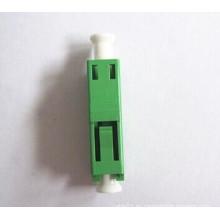 LC / APC Adaptador de Fibra Óptica Simple Simplex