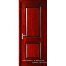 Puerta de artesano de madera del panel levantado