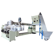 High Output PP PE ABS Pet Granulator Pelletizing Line Machine