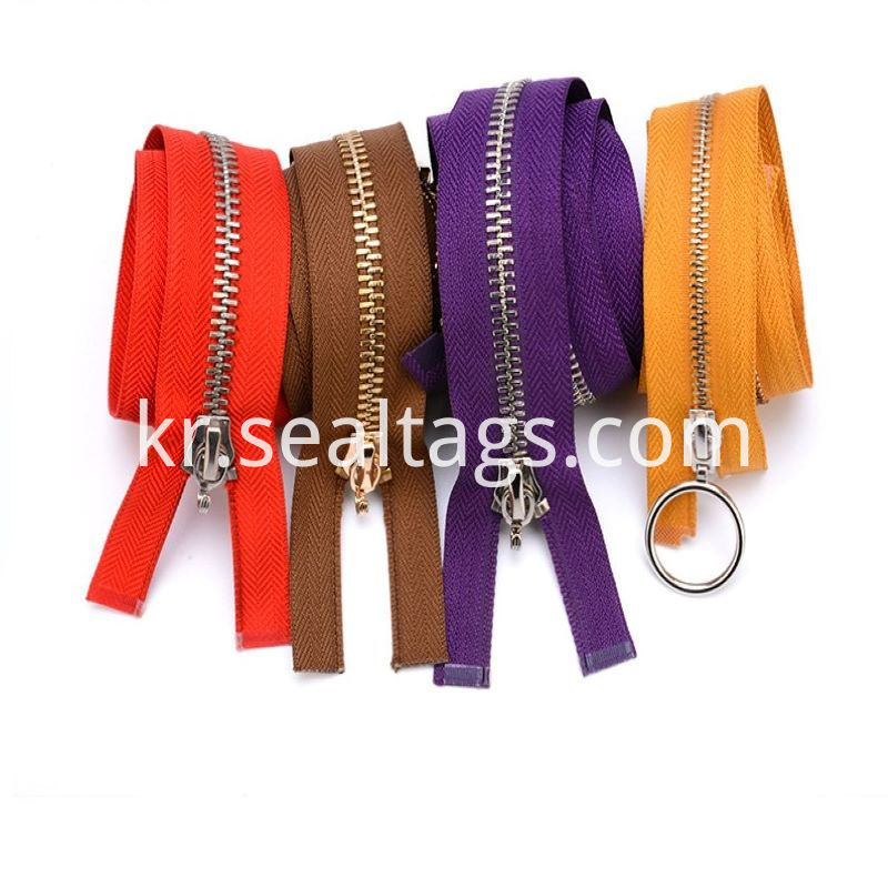 Colorful Velcro Zipper