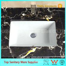 Lavabo rectangular bajo encimera de cerámica A8609 OVS
