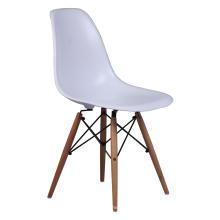 Réplica de la silla lateral de comedor de plástico eames dsw