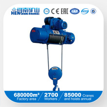 China Good Price Electric Wire Rope Remote Hoist avec SGS ISO Ce Certificate