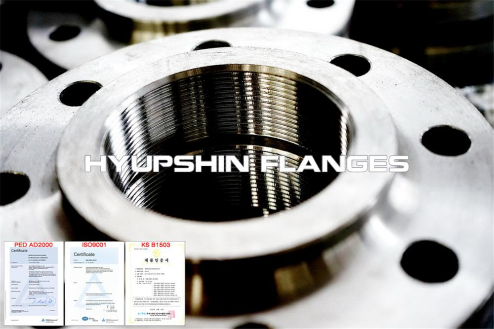 Hyupshin Flanges Npt Screwed Threaded