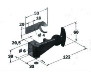 Van Box Toggle Fastener