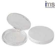 Round Plastic Compact Case