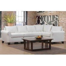 white living room linen sofa set with coffee table XYN2057