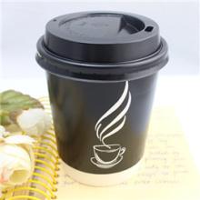 Tasse jetable chaude de papier de café d'usine d'OEM potable avec le couvercle