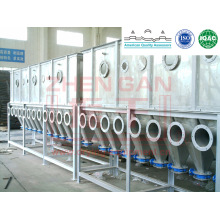 Séchoir à ébullition horizontal Xf Series pour résine plastique