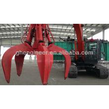 Hydraulic Grab Orange Peel Grab Scrap Grab for Excavator Grab harbour gantry crane grab