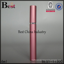 Alibaba hot sell 6ml red pen shape stick perfume bottle, made in China