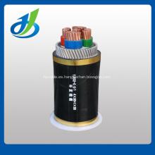 Cable eléctrico de 3.6 / 6KV XLPE / PVC / STA
