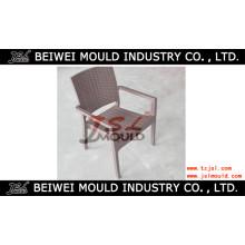 Molde plástico da cadeira do braço do molde da cadeira do braço do Rattan da injeção