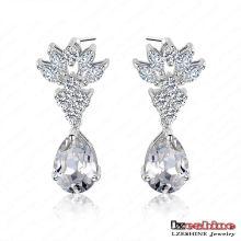 Boucle d'oreille de femmes de bijoux à la mode (CER0025-B)
