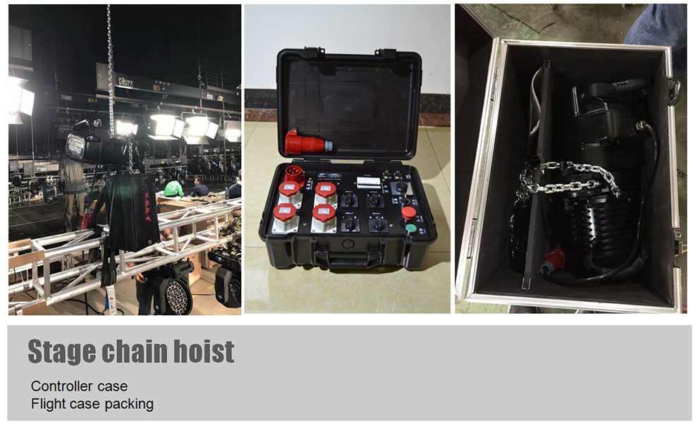 stage chain hoist HGA2