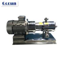 Pompe à émulsion sanitaire, pompe de transfert d'émulsion