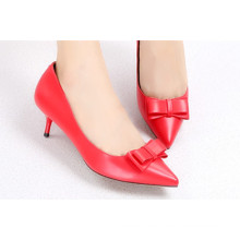 Sharp Toe Kätzchen Heel Lady Schuhe