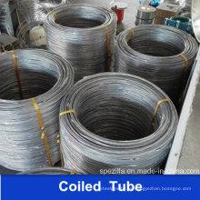 Tubo de bobina de acero inoxidable A269 304 316L