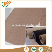 Fabriqué en Jiangsu PTFE en fibre de verre Tissu en fibre de verre revêtu de silicone Tissu en fibre de verre