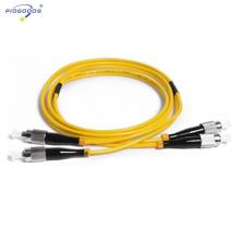 Одиночного режима FC/СКП крытый ФК-ФК СКП гибкий провод ПВХ кабель G652D 2.0 мм 3.0 мм Китай поставщик фабрики