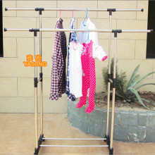 High Quality Double Folding Rolling Rack Dryer Rack
