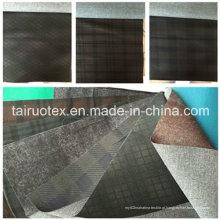 Sofá de 100% poliéster tecido de lã