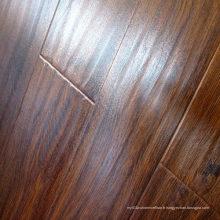 Plancher laminé stratifié imperméable à l'eau Handscraped