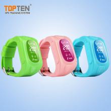 Mini GSM GPRS Zelle / Handy-Uhr GPS-Verfolger für Leute (WT50-ER)