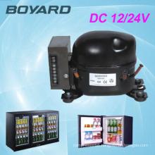 Refrigeration Parts Application and CE Certification 12v dc freezer compressor qdzh25g for freezer home & commercial