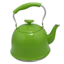 Grüne Farbe Edelstahl Wasserkocher