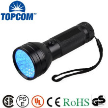 2013 most powerful 51 LED UV flashlight