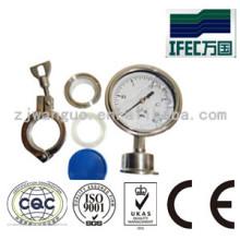 Sanitary Stainless Steel Pressure Gauge (IFEC-PG100001)
