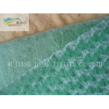 PV Plush Fabric For upholstery and toy