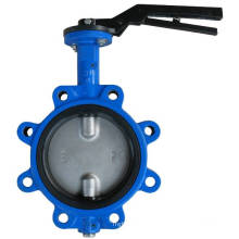Lug Natural Rubber Butterfly Valve in High Performance