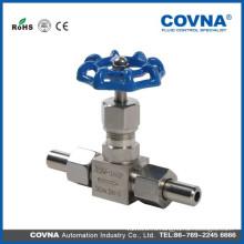 1 1/4 игольчатый клапан Swagelok Клапан игольчатый латунный игольчатый клапан изготовлен в Китае