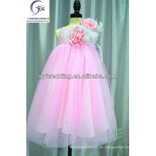 Fabrik Preis Ballkleid Prinzessin Günstige Blumenmädchen Kleid von 9 Jahre alt Lovely Blumenmädchen Kleid für Hochzeitsfest