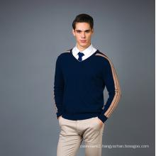Men′s Fashion Cashmere Blend Sweater 17brpv070