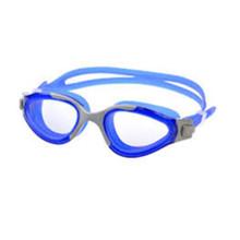 Venta caliente impermeable de caucho de silicona gafas de natación