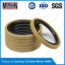 NBR/FKM+PTFE Hydraulic Piston Seal OE Type Rubber Ring