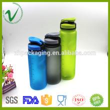 PCTG bouteilles d'eau biodégradables réutilisables transparentes 600ml