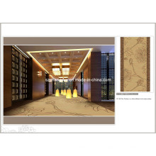 Hochwertige Inkjet Nylon Wand zum Wand Hotel Teppich Roll