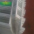 Galvanized Weld Wire Mesh Fencing dengan Post Anchor
