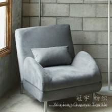 100% Polyester Faux Wildleder Stoff für Sofa