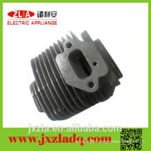46F Electroplating Aluminum Die Casting Parts Cylinder of Gasoline Chainsaw for Garden Tools